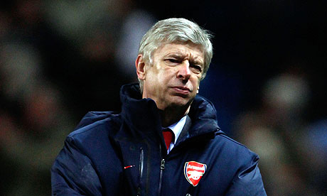 Arsene wondering what to say about the matter.
