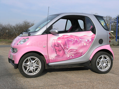 What Balotelli's Smart car might have looked like.