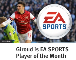 Giroud EA POTM Jan 2013