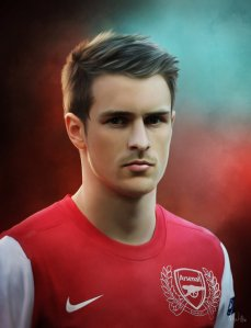aaron_ramsey___painting_by_lasse17-d4ut302