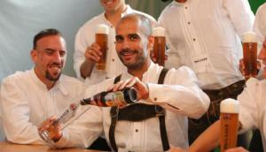 Pep and the beer