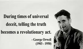 orwell speaking the truth